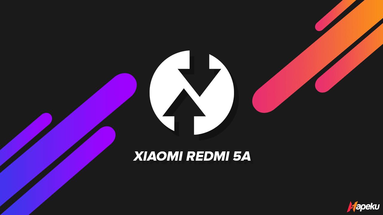 TWRP Redmi 5A