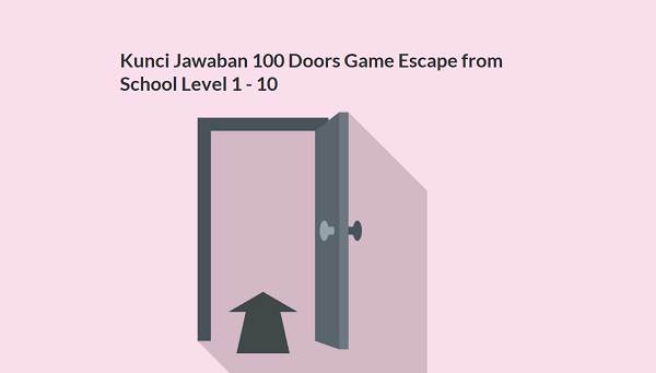 Kunci Jawaban 100 Doors Game Escape from School Level 1 - 10