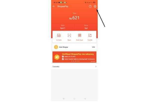 Cara Verifikasi Rekening Bank di Shopeepay Terbaru